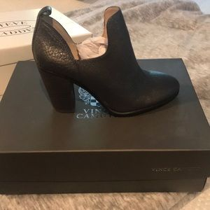 Silver Vince Camuto booties